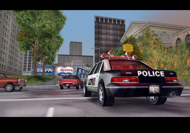 Скрипшот из GTA 3