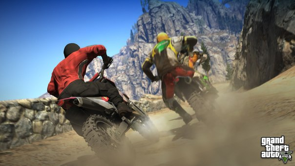 Мотоцикл в GTA 5