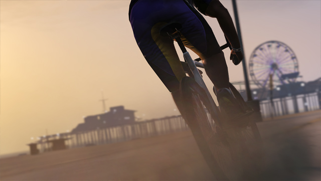 Велосипед в GTA 5, Транспорт в GTA 5, Велик в GTA 5