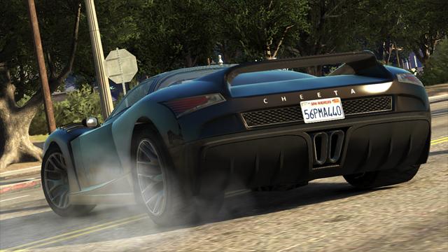 Транспорт GTA 5, Машины в GTA 5, CHEETAH