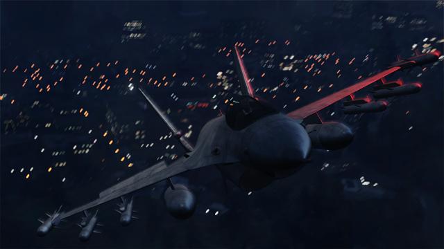 Транспорт в GTA 5, Истребитель в GTA 5, Самолет в GTA 5, Гидра